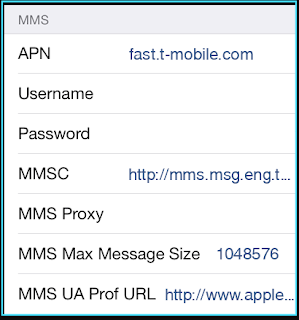 New T Mobile apn settings iPhone  2