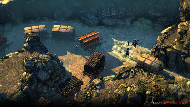 Shadow Tactics Blades of the Shogun Gameplay Screenshot 1