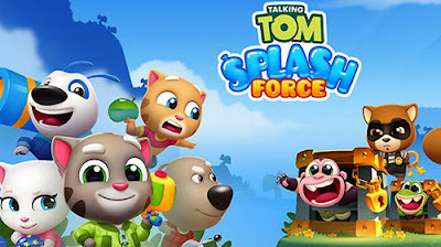 Talking Tom Splash Force Apk for Android Free Download