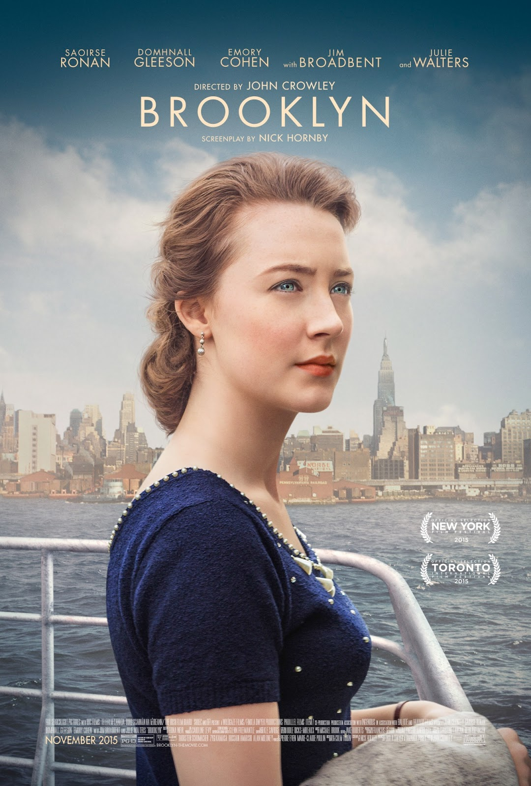 Pelicula Brooklyn (2015) Full HD 1080p Latino - Ingles Online imagen