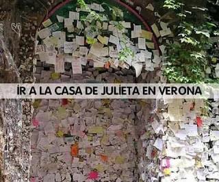 Ir a la casa de Julieta en Verona: