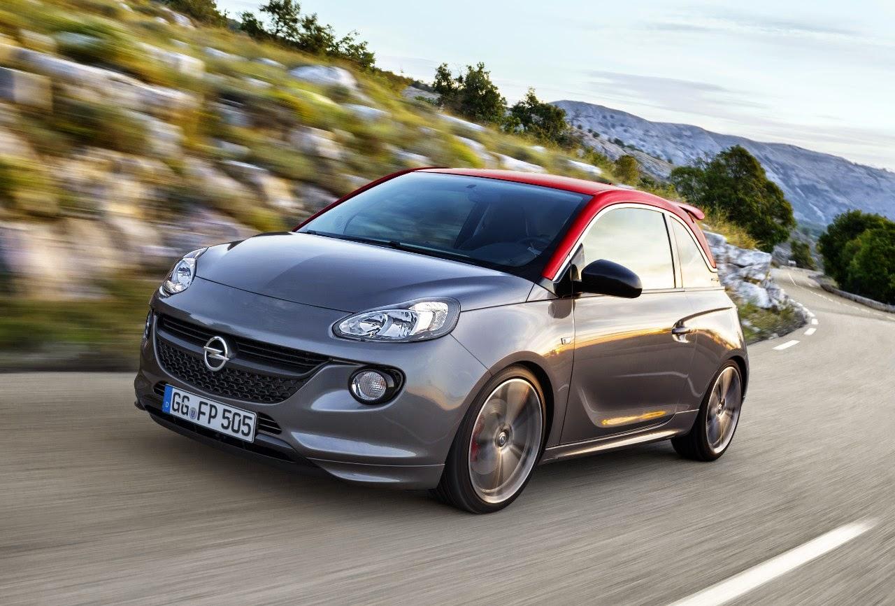 Ντεμπούτο στο Παρίσι για τη νέα σπορ έκδοση Opel ADAM S: Ισχυρός 1.4 -turbo με 110 kW/150 hp και πλαίσιο υψηλών επιδόσεων