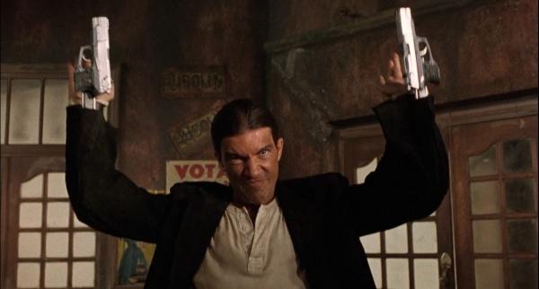 Gunversation: Guns in Movies: Desperado Antionio Banderas