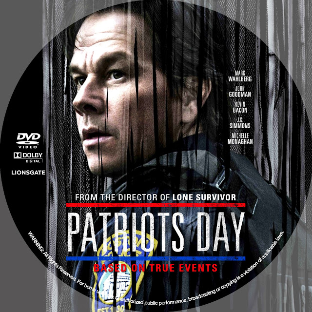 Patriots Day DVD Label