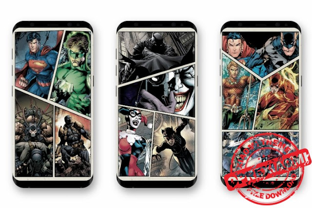 New Update DC Heroes Exclusive Minimal Wallpapers Free Download On All Android