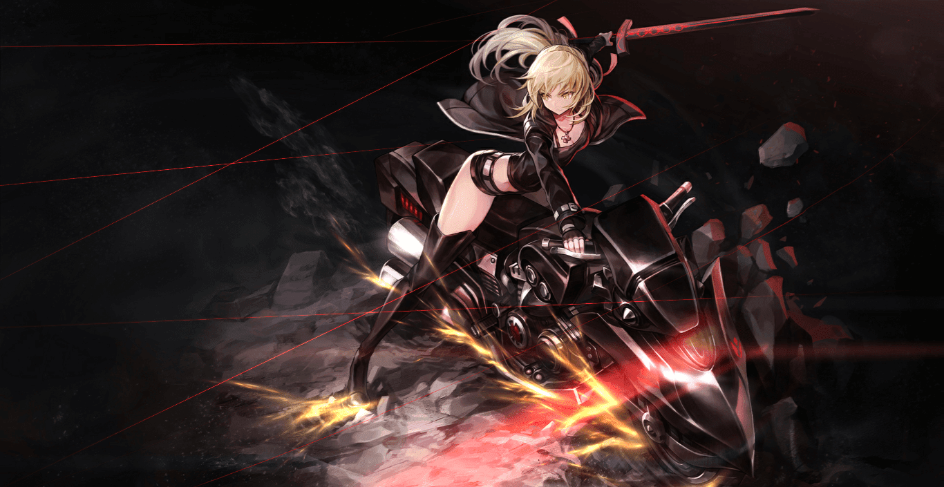 Fate/Grand Order Saber Alter Cubey [Wallpaper Engine Anime]