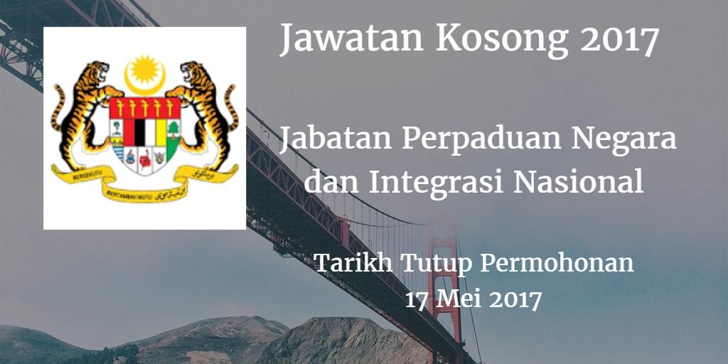 Jawatan Kosong JPNIN 17 Mei 2017
