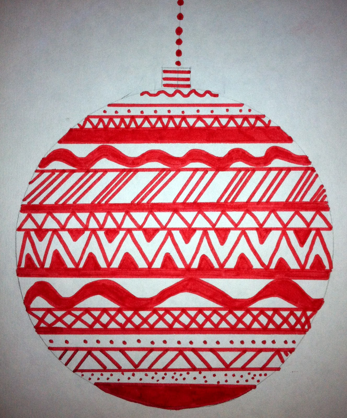 Expression Of Imagination Line Design Ornaments By