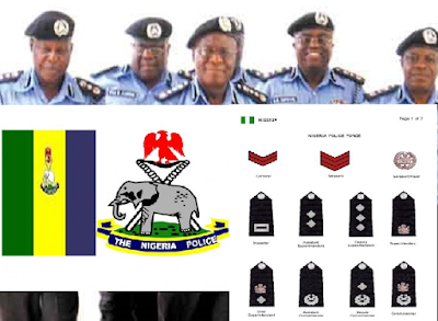 Ranks in the Nigerian Police Force