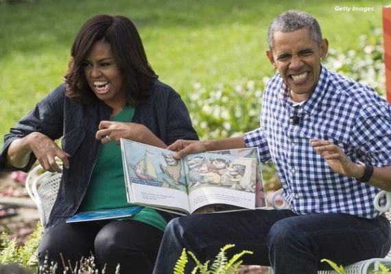 Checkout this funny photo of Barack and Michelle Obama