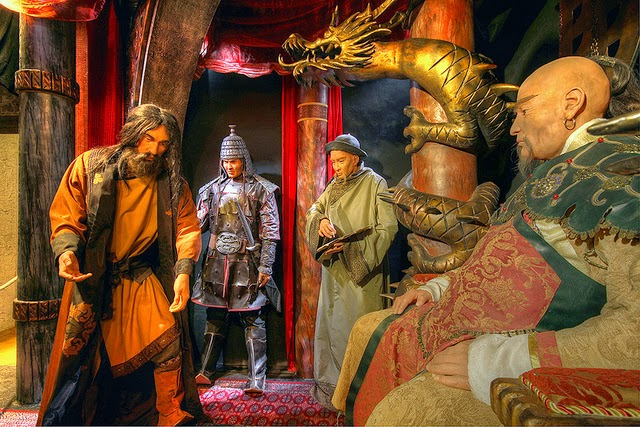 kublai khan and marco polo relationship test