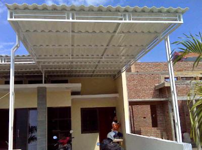 Desain Kanopi Rumah Minimalis