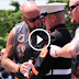 Injured Marine Holds Salute For 3 Hours. Then Some Patriotic Bikers Show Up…