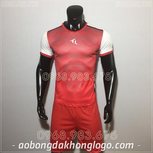 Áo bóng đá không logo TL Xabi  màu đỏ