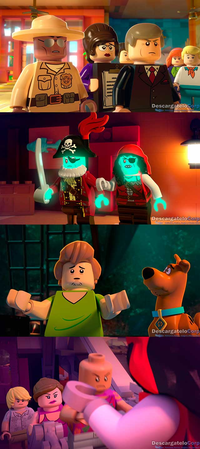 Lego Scooby-Doo Fiesta en la playa de Blowout (2017) HD 720p Latino