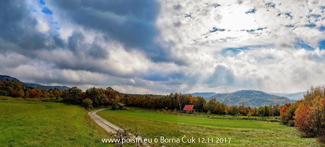 Putopisi po Istri @ Selo Strana i Slap Copot (penjalište Sopot) @ 12.11.2017