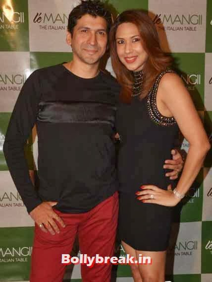 Prashant and  Meenakshi Chaudhri, Page 3 Celebs at 'Le Mangii' Launch Party