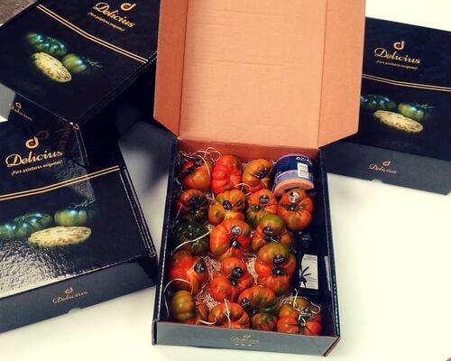 cajas para tomates