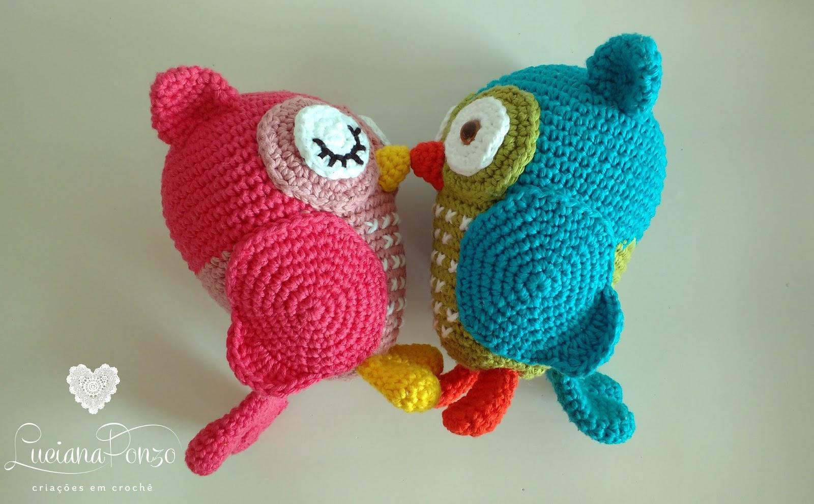 Corujas de crochê: 40 ideias lindas e modernas para você se inspirar | 991x1600