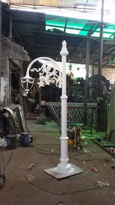 lampu besi tempa untuk rumah mewah