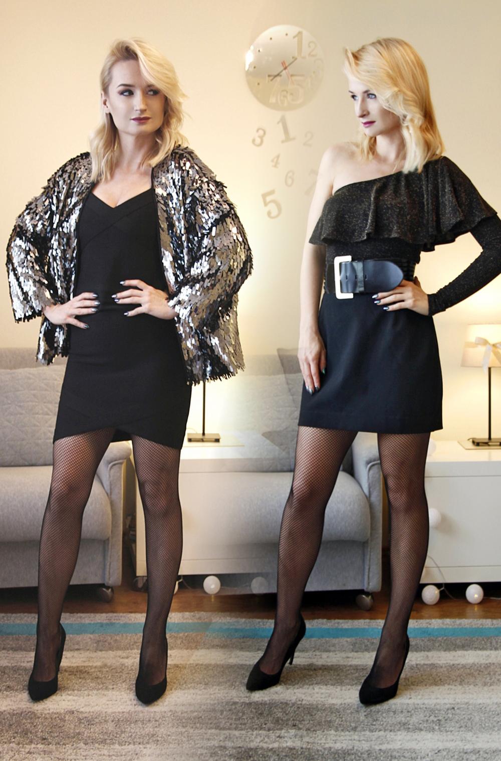 Jak się ubrać na sylwestra - 2 stylizacje