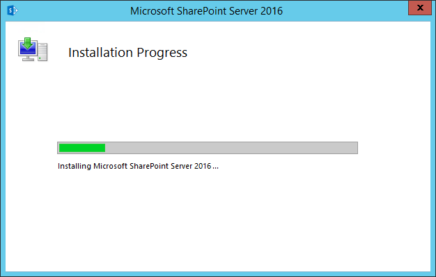 install sharepoint 2016 farm using powershell