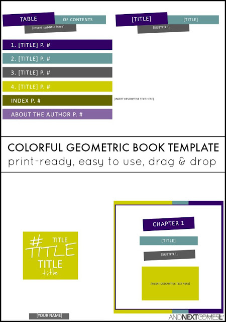 microsoft publisher book cover template