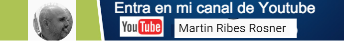 Entra en mi chanal de Youtube
