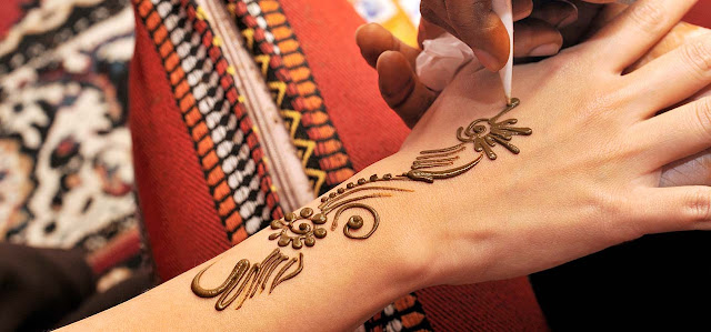 Simple And Easy Mehndi Designs For Back Hands.