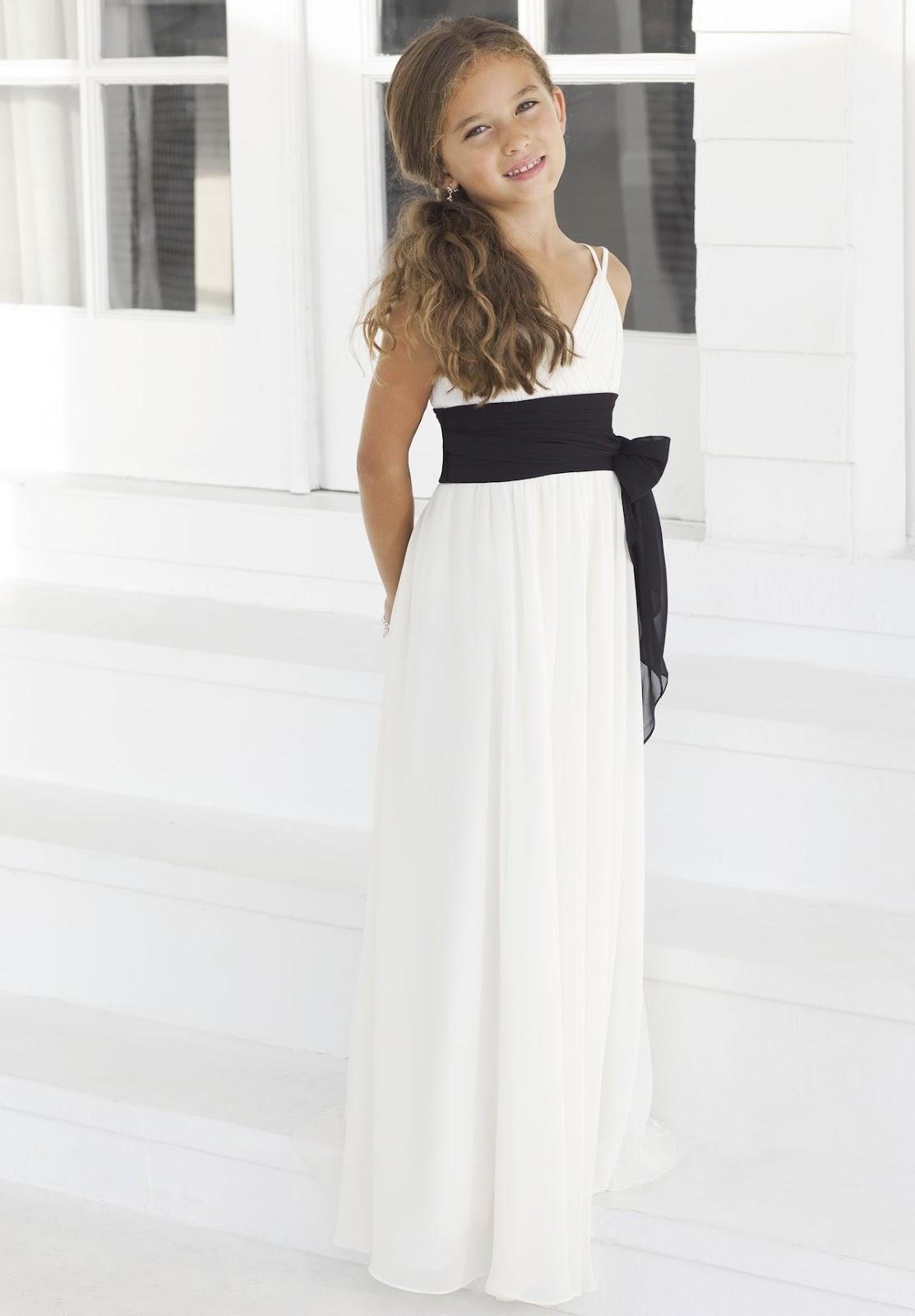 WhiteAzalea Junior Dresses: White Junior Bridesmaid ...