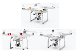 Perbedaan DJI Phantom 3 Standard Professional dan Advanced - OmahDrones