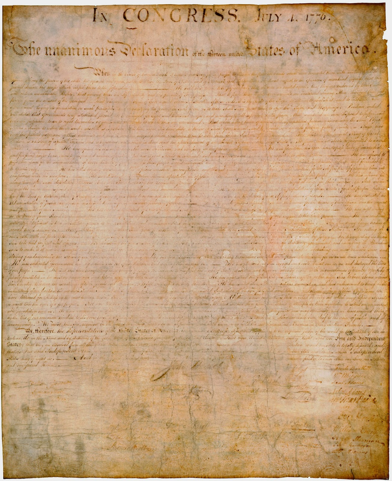 declaration independence 3 3 contributions  there were no rights actually listed in the declaration of independence,  though the ideas that were put into the declaration.