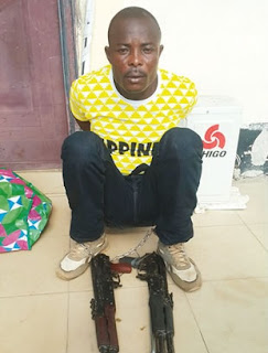 Niger Delta Militant Trying To Bomb Lagos Third Mainland Bridge ARRESTED; See Photo