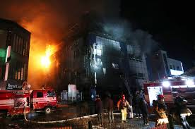 South Korea. Goes to fire building in Jecheon: at least 28 dead