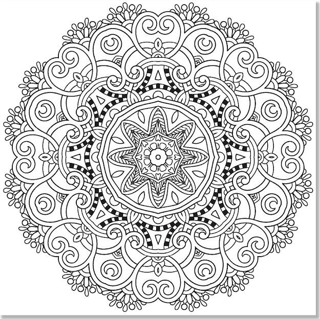 Mandala   Mandala Coloring Book For Adults  Google Search