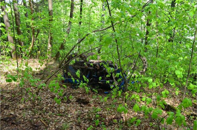 В Дуванском районе в лесу найден мёртвый мотоциклист