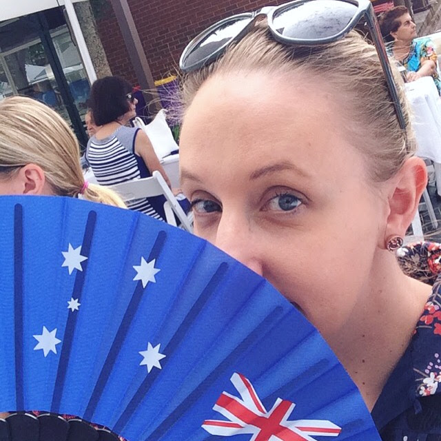 Australia Day fan | Almost Posh