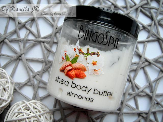 BingoSpa Bingo Spa migdałowe masło do ciała Shea body butter almonds