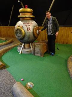 Mr Mulligan's Adventure Golf course in Stevenage