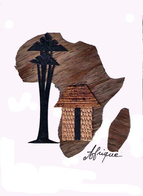 Afryka, rękodzieło, prezent, Kamerun