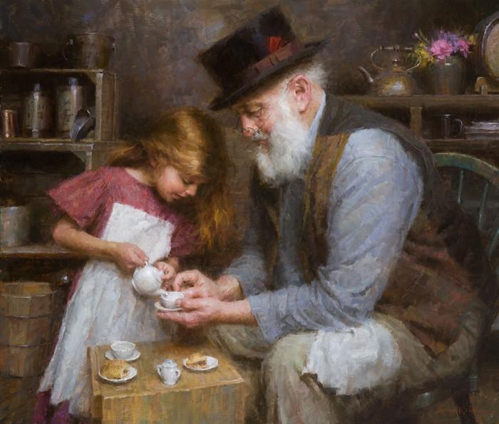 Американский художник. Morgan Weistling 9