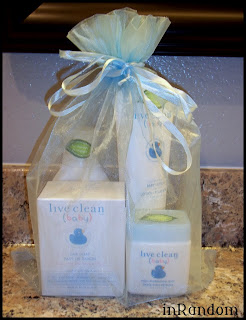 gift bag of natural products