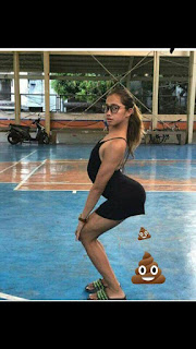 Photoshop con humor - Chica que quería más piernas