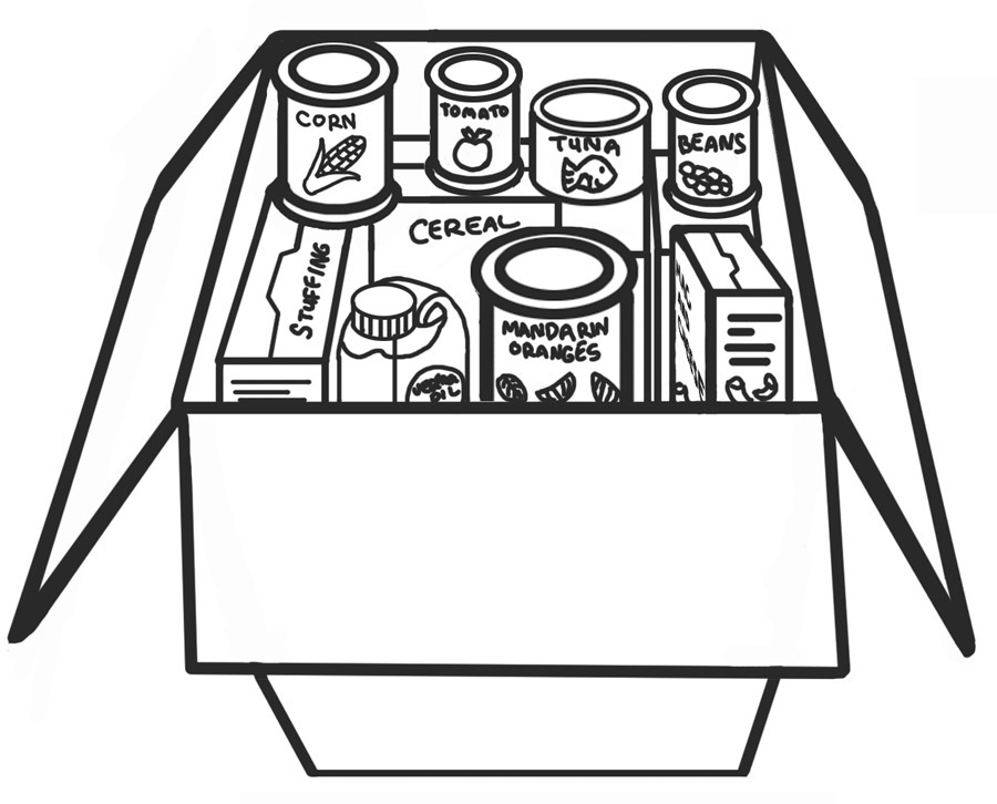 LDSFiles Clipart: Food Drive