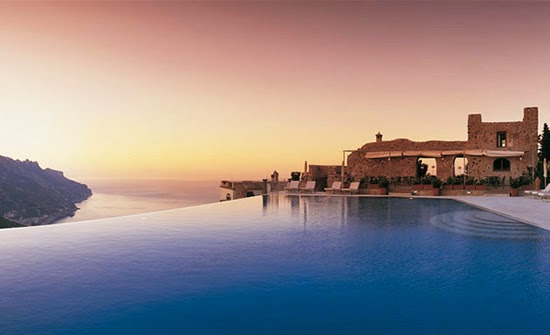 Hotel Caruso, Italy - Infinity Pool