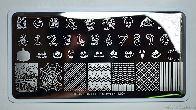 halloween themed stamping plate