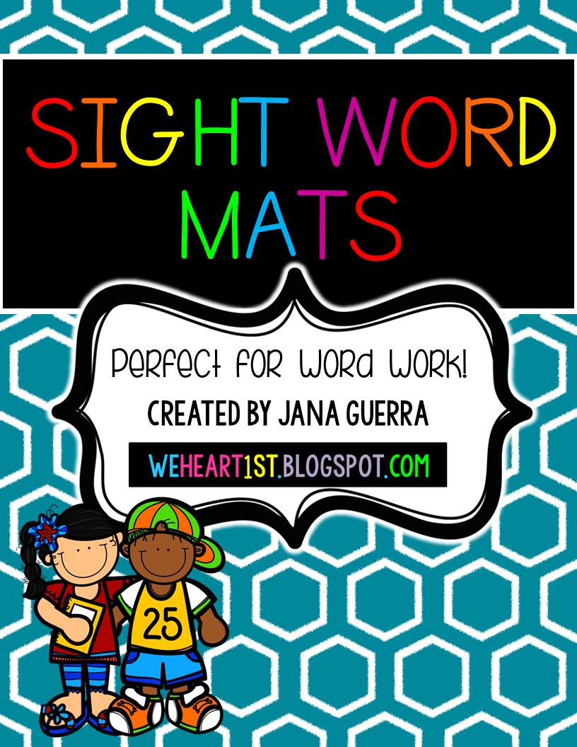 http://www.teacherspayteachers.com/Product/Sight-Word-Play-Doh-Mats-1497519