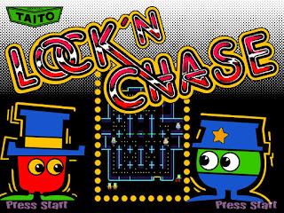 Lock 'n' Chase, clon de Pac-Man