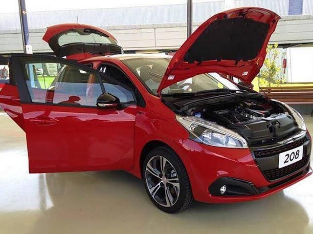 Novo Peugeot 208 THP Turbo Flex 2017