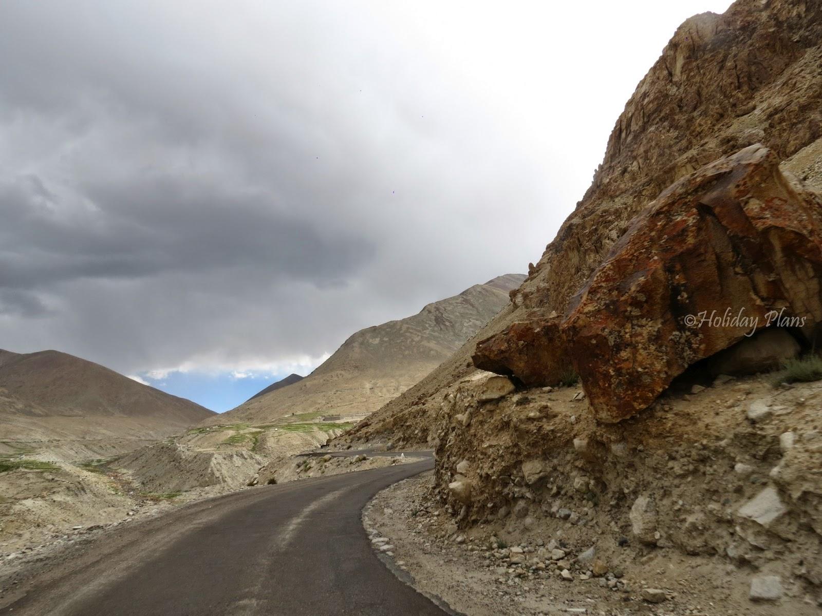 The adventurous route